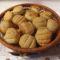 Medvehagymás - sajtos pogácsa