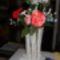 horgolt virág és váza