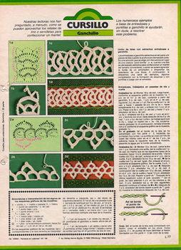 hurkos horgolt minták 5