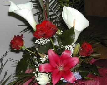 gyönyörű virágcsokor