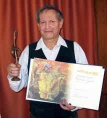 Bognár Gyula 2010-ben Artisjus díjas