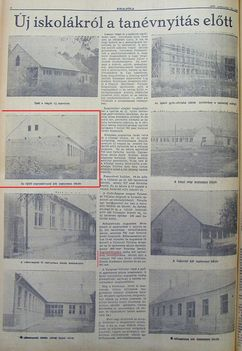 Új iskolák, Kisalföld, 1959.08.18. 6
