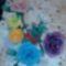 harisnyaviragok,nylon flower,meia de seda 1