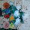 harisnyaviragok,nylon flower,meia de seda 8