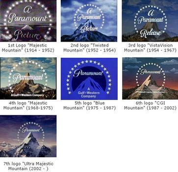 filmstúdiók Paramount logó története