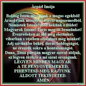 Árpád imája