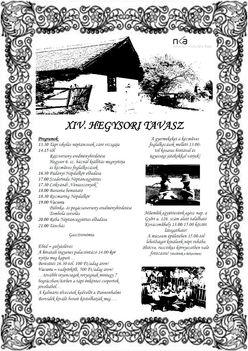 hegysor plakát 2013