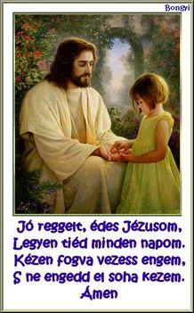 Jó reggelt édes Jézusom