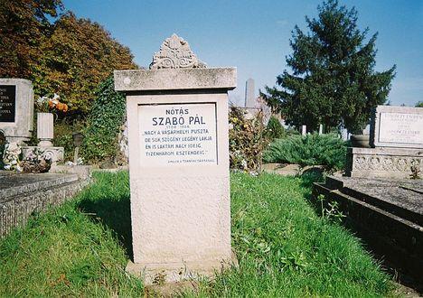 Nótás Szabó Pál sírja