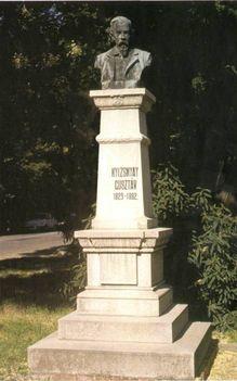 Nyizsnyai Gusztáv szobra