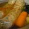 Hus levesben főtt toltelék