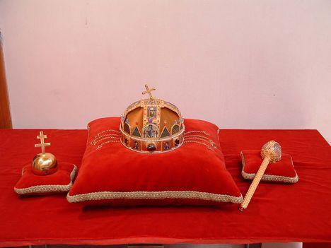 Szentkorona, Országalma, Jogar