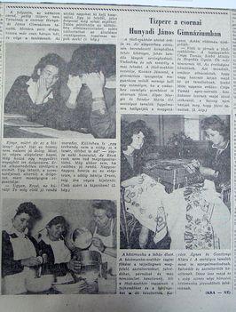 Hunyadi gimnáziumban, Kisalföld, 1961.05.31. 3