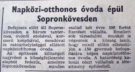 Sopronkövesdi óvoda, Kisalföld, 1961.02.19. 5