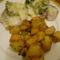 Brokkolis csirkemell, sultkrumplival