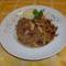 Csirkés zöldséges wok tészta