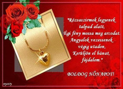 Dáma Lovag Erdős Anna versével is kívánok minden kedves Hölgynek Boldog Nőnapot!