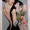 Hölgy orchideával