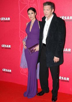 Monica Bellucci és Vencent Cassel