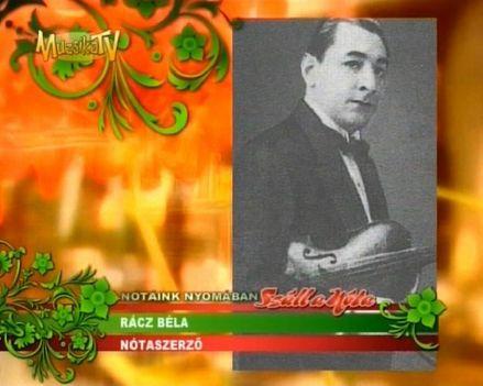 Rácz Béla 1899 - 1962