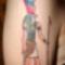 Tetoválás - testékszer.  1 Horusz tetoválás