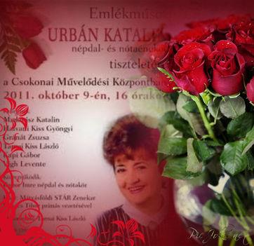 Urbán Katalin 1921 - 2011