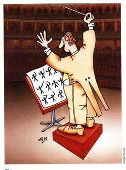 Nem kell mindig komolynak lenni : A karmester