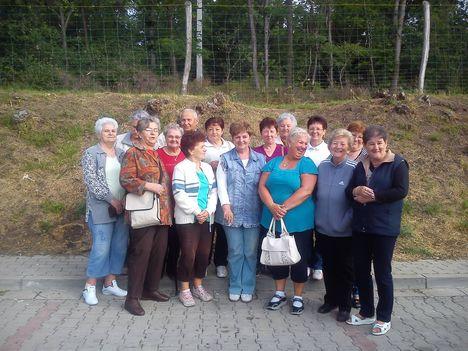 Nyugdíjasklub kirándulása Pécs 2013.
