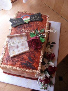 Ballagási torta