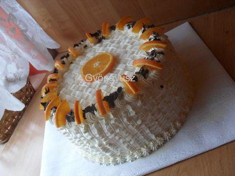 Oroszkrém torta 2