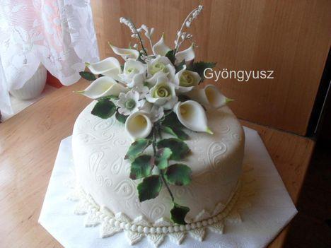 Ribizlikrémes torta