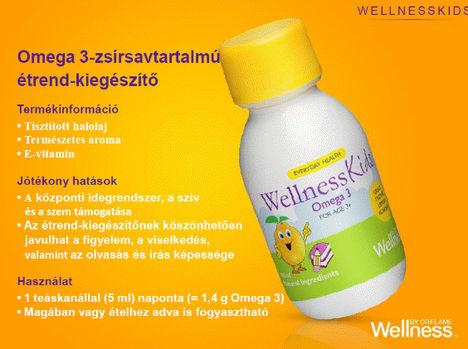Wellness by Oriflame folyékony Omega3