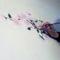 cseresznyevirág, festés, fal, dekorálás 2