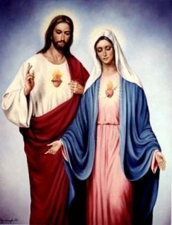 Jezus_ Mária_szent_kep
