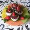 Csokis virág habbal és eperrel2