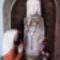 fából faragott Mária szobor