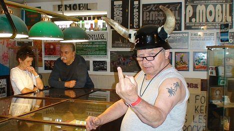 Zsír a P.Mobil Rockmúzeumban!