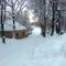 Bakonyszentlászló télen 6