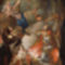Dunántúli festő-Szent István felajánlja a koronát-Szüz Máriának
