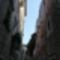 szűk utca Kotorban