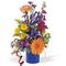 kék bögre virág