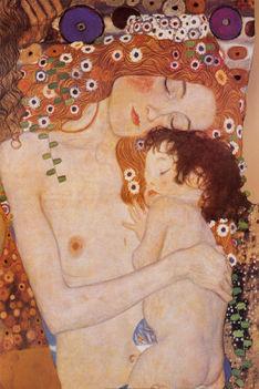 Klimt: Anya és gyermeke