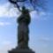 Mária szobor a falu végen