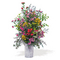 váza vegyes virág