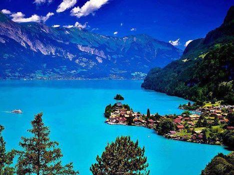 Brienzersee in der Schweiz
