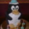 Pingvin torta csokoládés meggy ízű
