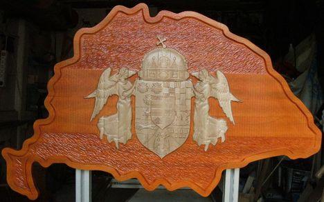 Nagy-Magyarország angyalos címerrel 1