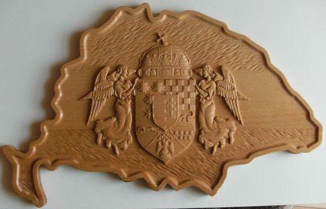 Nagy-Magyarország angyalos címerrel 2