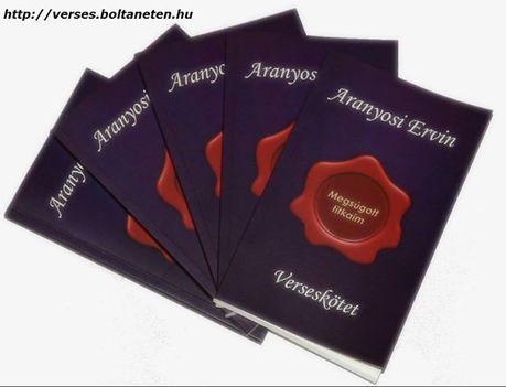 Aranyosi Ervin verses kötete