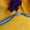 kékség /craw ékszergombbal